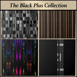 Gingezel Ceramic Tiles from the Black Plus Collection