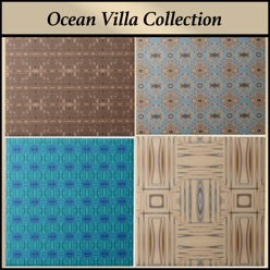 Gingezel Designer ceramic tile from the Ocean Villa Collection