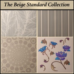 Gingezel Tiles from the Beige Standard Collection
